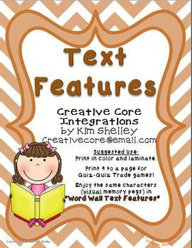 Fall Text Features Mini Posters