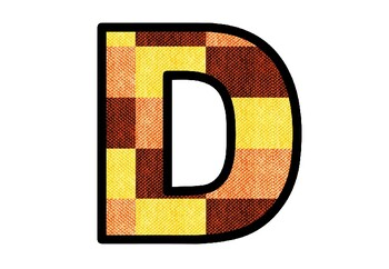 Fall Textile, Fabric Bulletin Board Letters, Class Decor Dining Hall Cafetaria