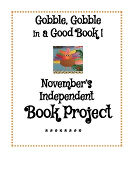 Fall/Thanksgiving Book Project
