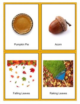 Fall / Thanksgiving Charades