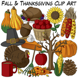 Fall & Thanksgiving Clip Art
