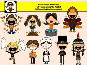 Fall / Thanksgiving Day Clip Art Set