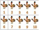 Fall/Thanksgiving Number Card FREEBIE