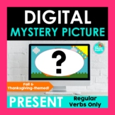 Fall Thanksgiving Present Tense Digital Mystery Picture |