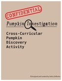 Fall / Thanksgiving Pumpkin Cross-curricular Activity - Math, Science, LA