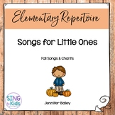 Fall Songs for Little Ones