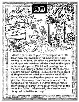 """Fall/Thanksgiving Sound Loaded Stories for Articulation with """"wh"""" Questions"""