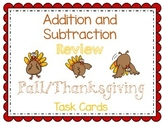 Fall & Thanksgiving Themed Addition and Subtraction enVisi