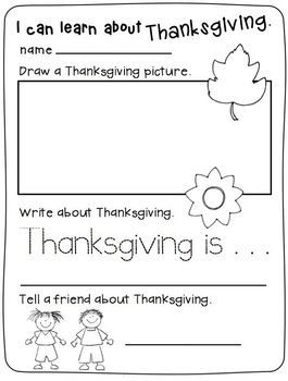Fall & Thanksgiving Themed Language Arts Package
