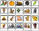 """Fall & Thanksgiving"" Words/Matching/Memory Game/Flashcard"