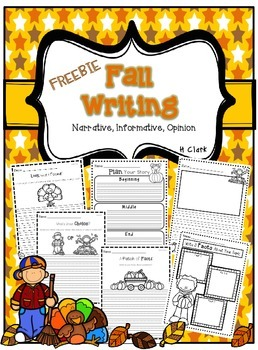 Fall / Thanksgiving Writing ~ FREEBIE