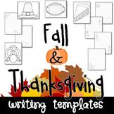 Thanksgiving Seasonal Writing Paper Set
