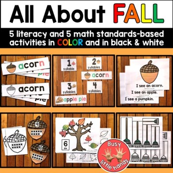 Fall Theme for Preschool
