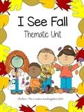 Fall Thematic Unit: Ready, Set, Centers! {Common Core Aligned}