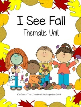 Fall Thematic Unit: Ready, Set, Centers! {Common Core Aligned}