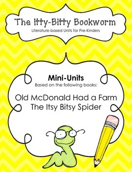 Fall Literature-based Units:  Old McDonald Had a Farm and Itsy Bitsy Spider