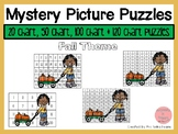 Fall 20, 50, 100 & 120 Chart Mystery Picture Puzzles