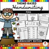Fall Handwriting Lessons (Manuscript Edition)