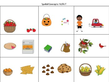 Fall Theme Basic Concepts Packet