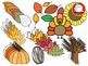Fall Theme Clipart (Personal & Commercial Use)