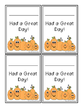 Fall Theme HAPPY GRAMS
