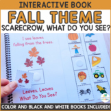 Fall Theme - Interactive Adapted Book Pack - Dollar Deal!
