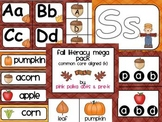 Fall Theme Literacy MEGA Pack ~ Letter Recognition, Beginn