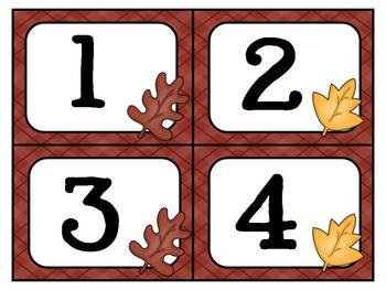 Fall Theme Math MEGA Pack ~ Numbers, Counting, Patterns & More