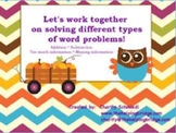 Fall Theme Math Word Problems