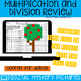 Fall Theme Multiplication and Division Practice DIGITAL Mystery Pictures