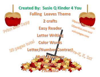 Fall Theme Packet