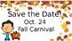 Fall Theme Parent Reminder