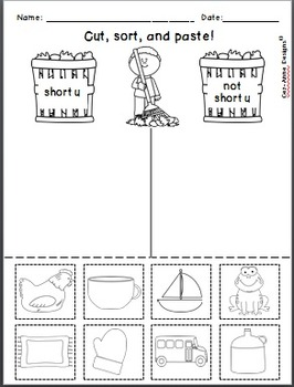 No Prep!!  Fall Theme ~ Phonics Practice ~ Short Vowels
