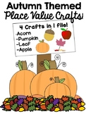 Fall Theme Place Value Crafts!