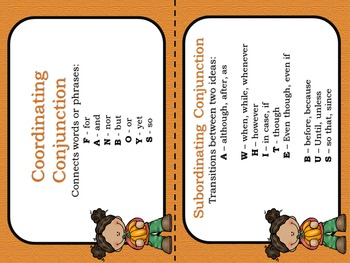 Fall Theme: Simple, Compound and Complex Sentences