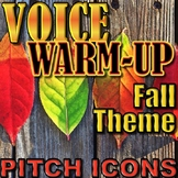 Fall Voice Warm-up - Elementary Music - Pitches So Mi La - Singing Warmup