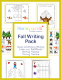 Fall Theme Writing Pack for Preschool, PreK & Kindergarten