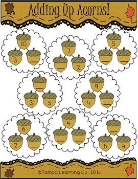Fall- 1st Grade Math World Problems & Addition/Subtraction