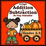 Addition and Subtraction of 2-Digit Numbers {Fall}