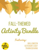 Fall Themed Activities Bundle!