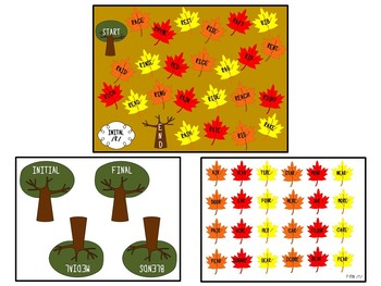 Fall-Themed Articulation Board Games BUNDLE