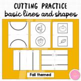 Fall Themed Basic Cutting