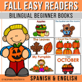 Fall Themed Bilingual Emergent Readers | 6 Books Included