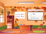 FREE Fall Themed Bitmoji Classrooms