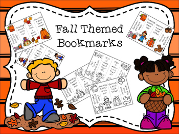 Fall Themed Bookmarks