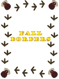 Fall Themed Borders