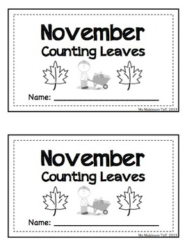 Fall Themed Bundle - Interactive Math Readers