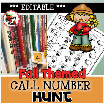 Fall Themed Call Number Hunt