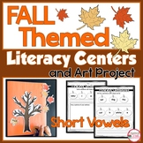 Fall Themed Phonics Centers for 1st Grade
