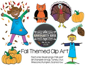 Fall Themed Clip Art